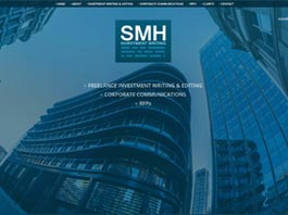 web design for SMH a local Stratford business