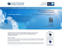 web design, web development and SEO for Coltman Warner Cranston