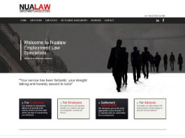 web design and SEO for Warwicksire Solicitors Nualaw