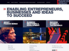 web development for entrepreneur Francis Seriau