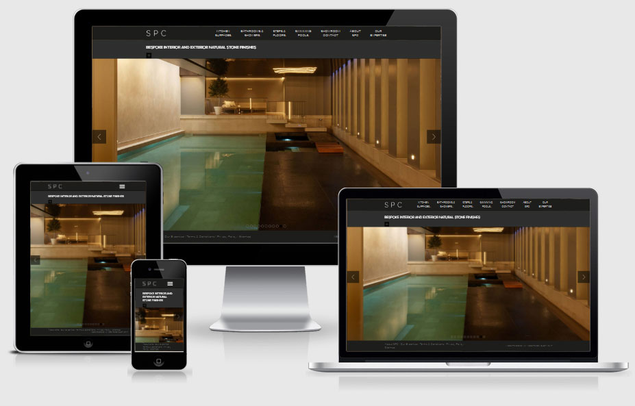 recent responsive web design project