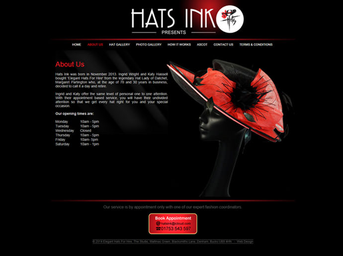 Elegant Hats For Hire 3