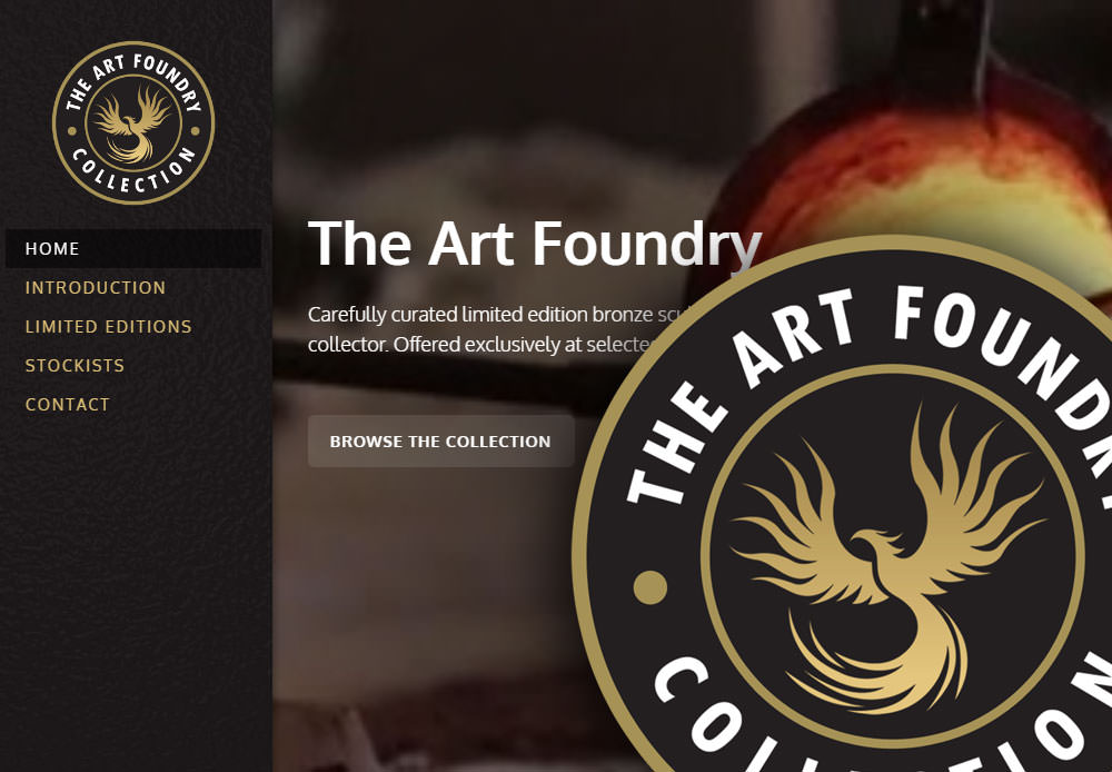 logo design for Stratford business The Art Foundry